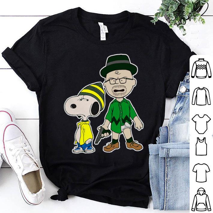 Snoopy Charlie Brown Breaking Nuts Peanuts Breaking Bad shirt
