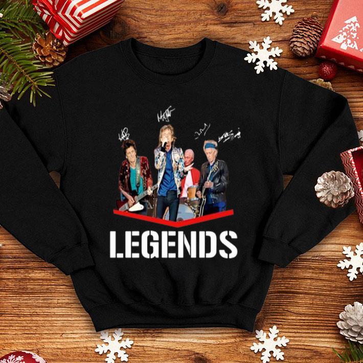 The Rolling Stones Legends Signatures shirt