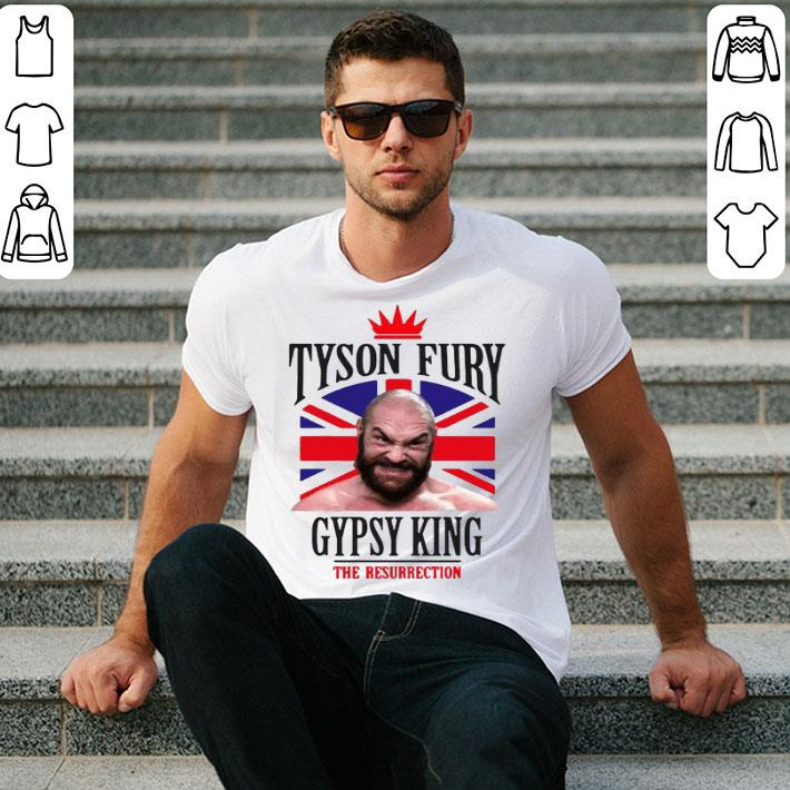 Tyson Fury Gypsy King Boxing The Resurrection shirt