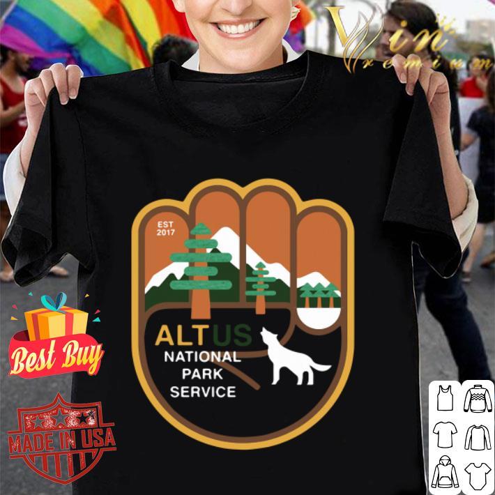 Wolf Altus national park service shirt