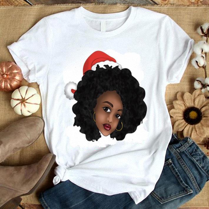Afro Natural Black Women Christmas shirt