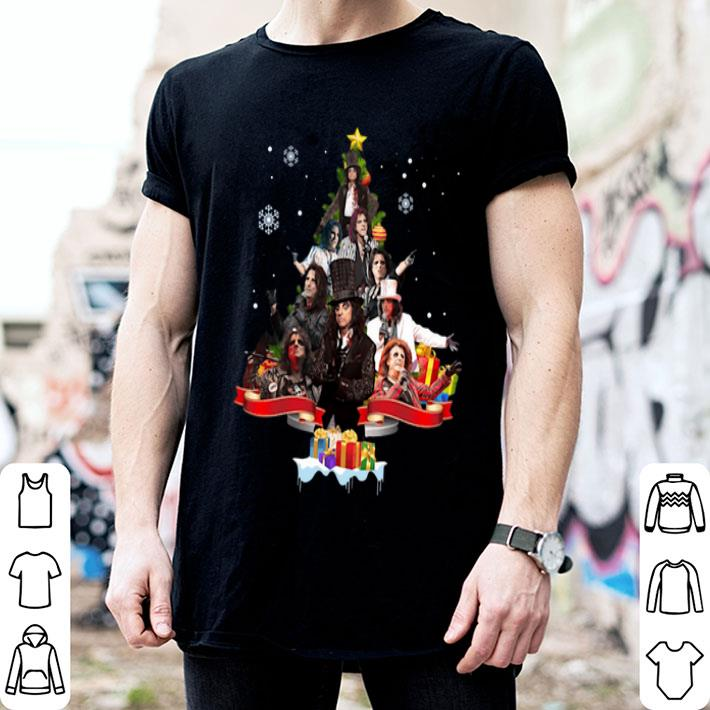 Alice Cooper Christmas tree shirt