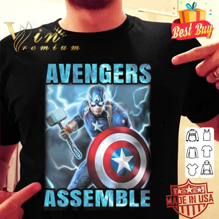 Avenger Assemble Captain America shirt
