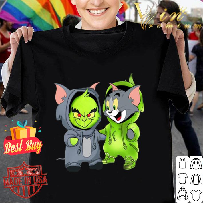 Baby Grinch and Tom shirt