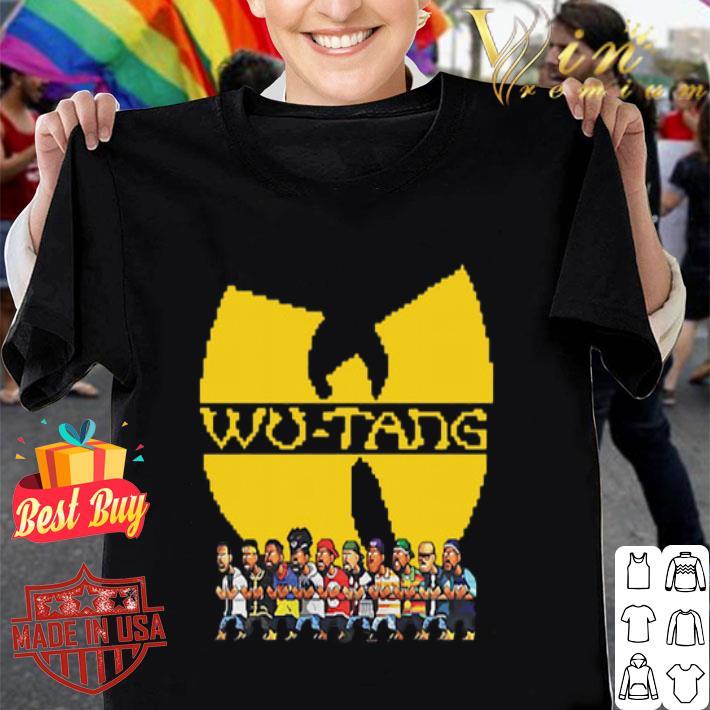 Characters Wu Tang Clan shirt