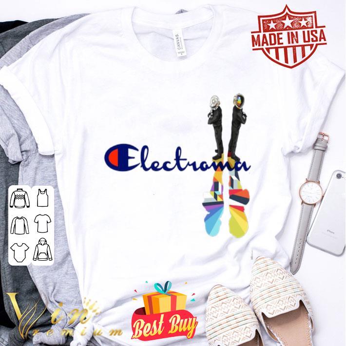 Daft Punk Electroma Champion shirt