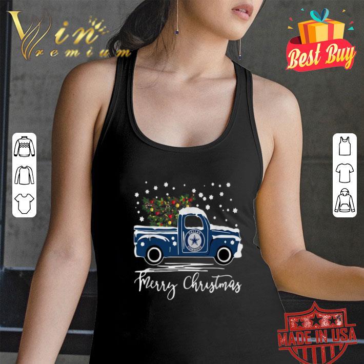 Dallas Cowboys truck Merry Christmas shirt