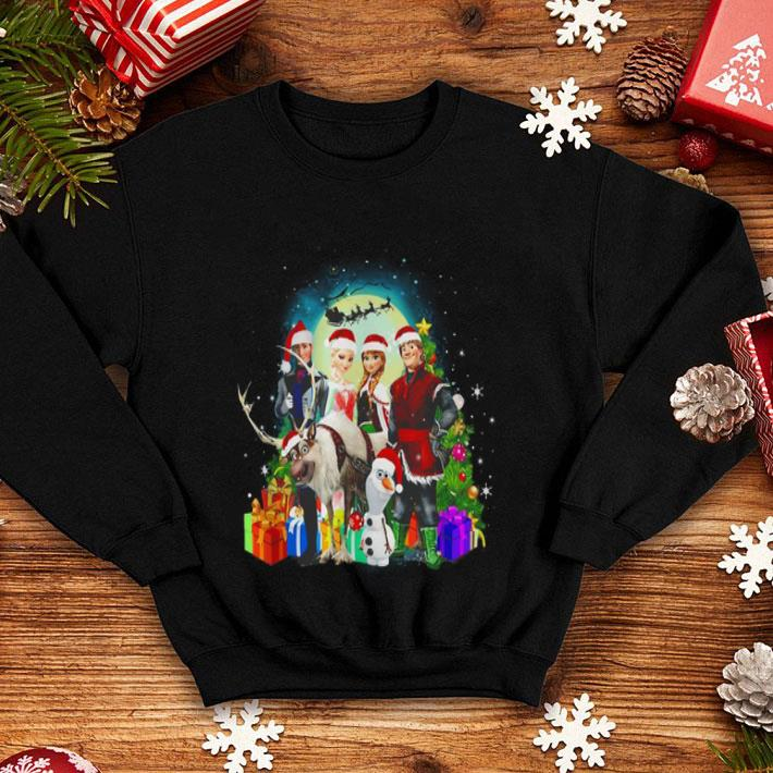 Disney Frozen Characters Merry Christmas shirt