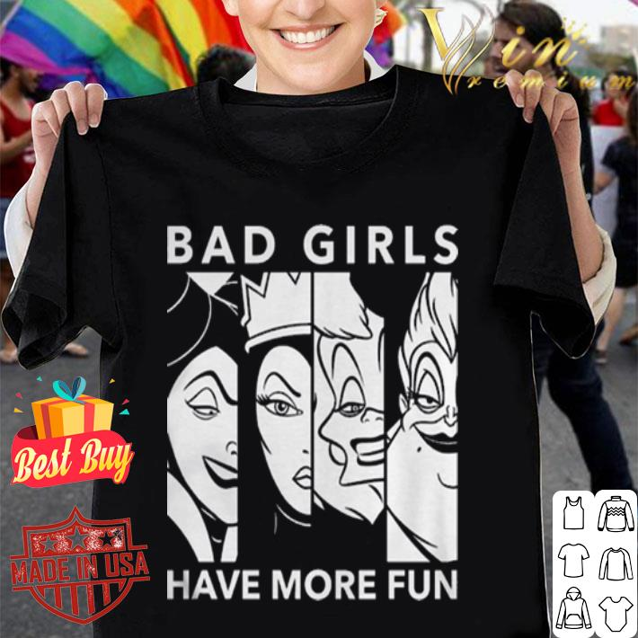 Disney Ni/ñas Villains Bad Girls Camiseta