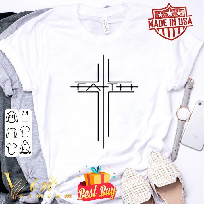 Faith Cross Jesus shirt
