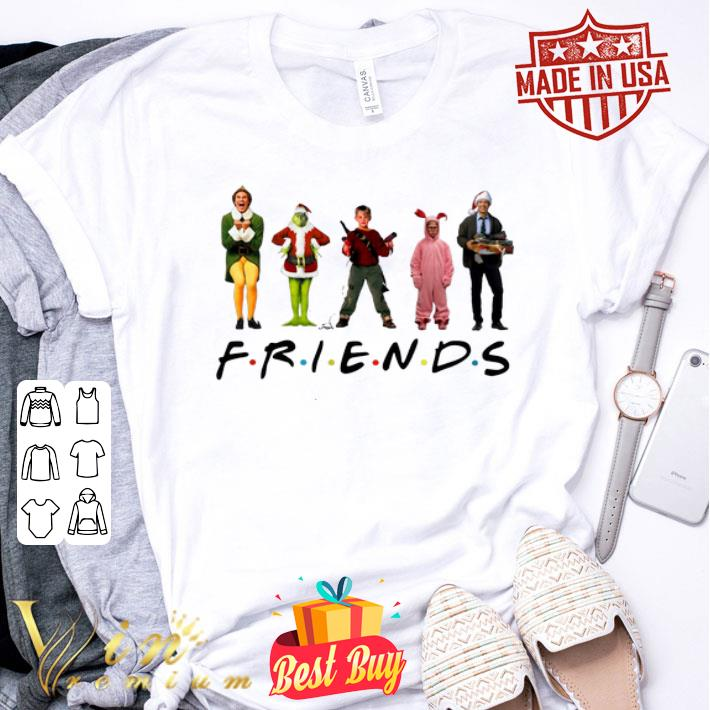 Friends Elf Grinch Kevin Ralphie's Bunny Michael Scott Christmas shirt