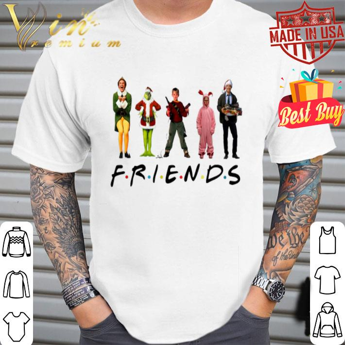 Friends Elf Grinch Kevin Ralphie's Bunny Michael Scott Christmas shirt