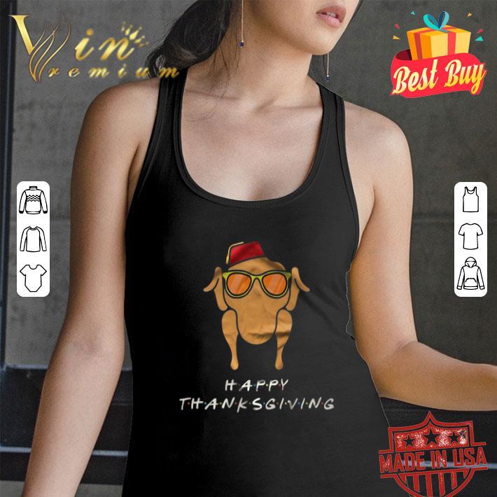Friends Happy Thanksgiving Chicken shirt