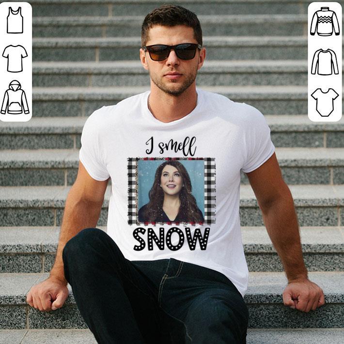 Gilmore Girls I smell snow Christmas shirt