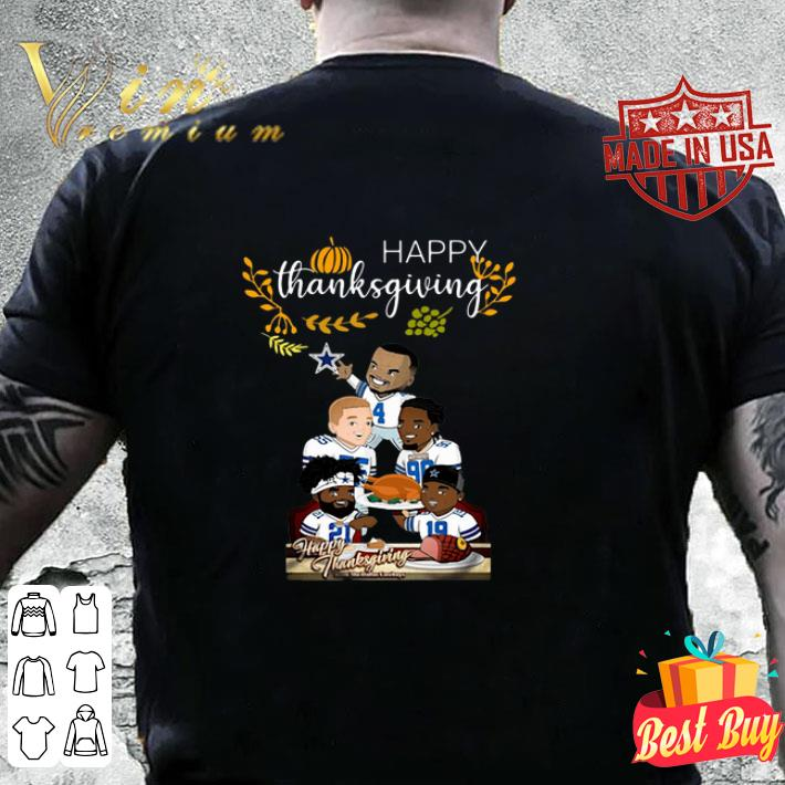 Happy Thanksgiving from The Dallas Cowboys shirt