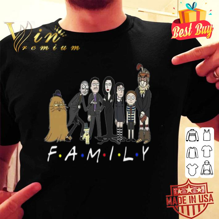 Harry Potter Rick and Morty Family Friends shirt