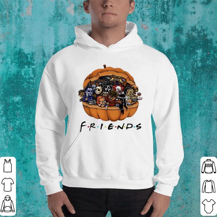 Horror characters Chibi in pumpkin Friends shirt