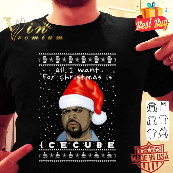 Ice Cube Rapper Ugly Christmas shirt