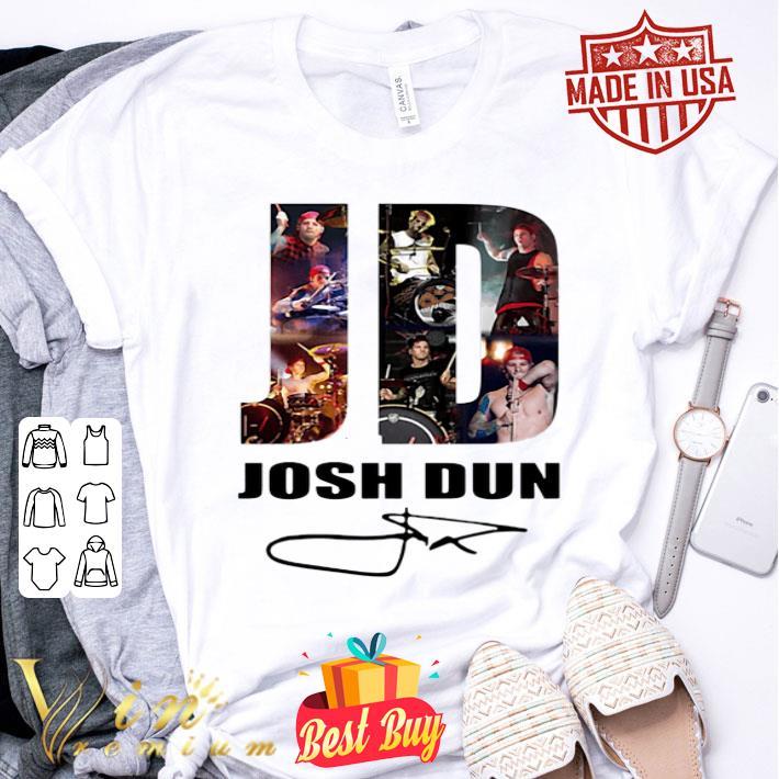 JD Josh Dun signature shirt