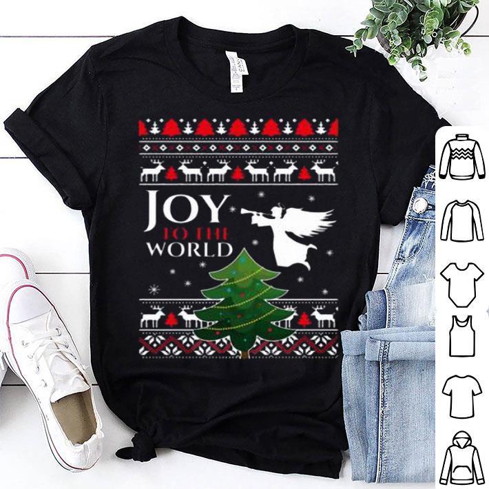 Joy to the world Christmas shirt