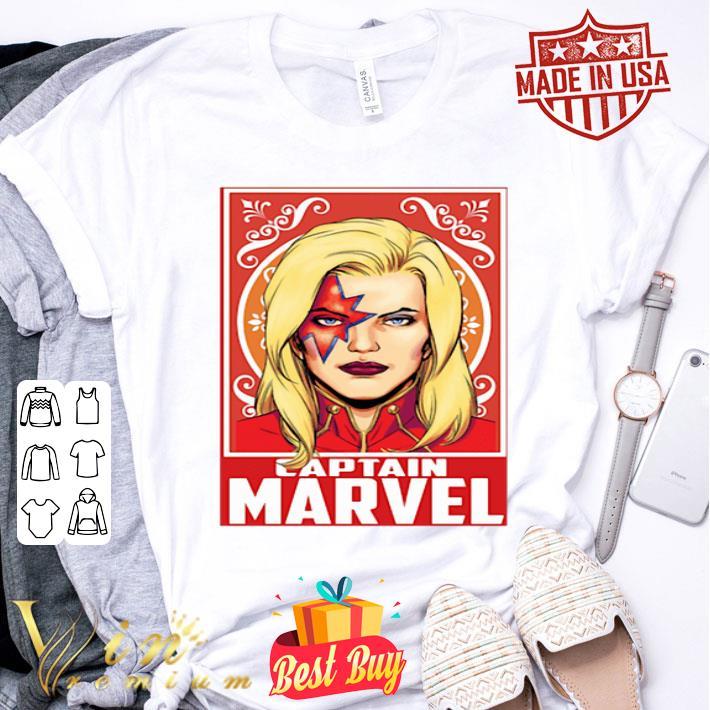 Kiss Captain Marvel Space Pose shirt