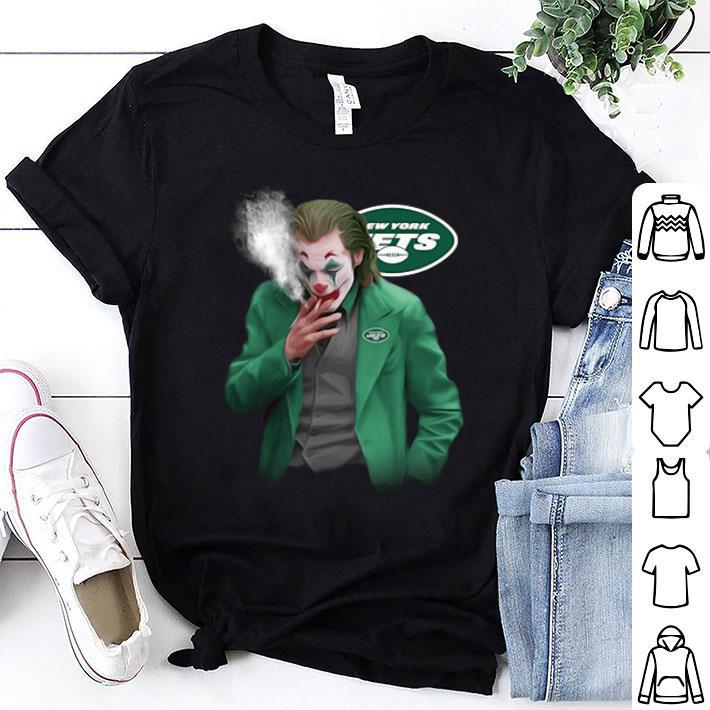 New York Jets Joker smoking Joaquin Phoenix shirt