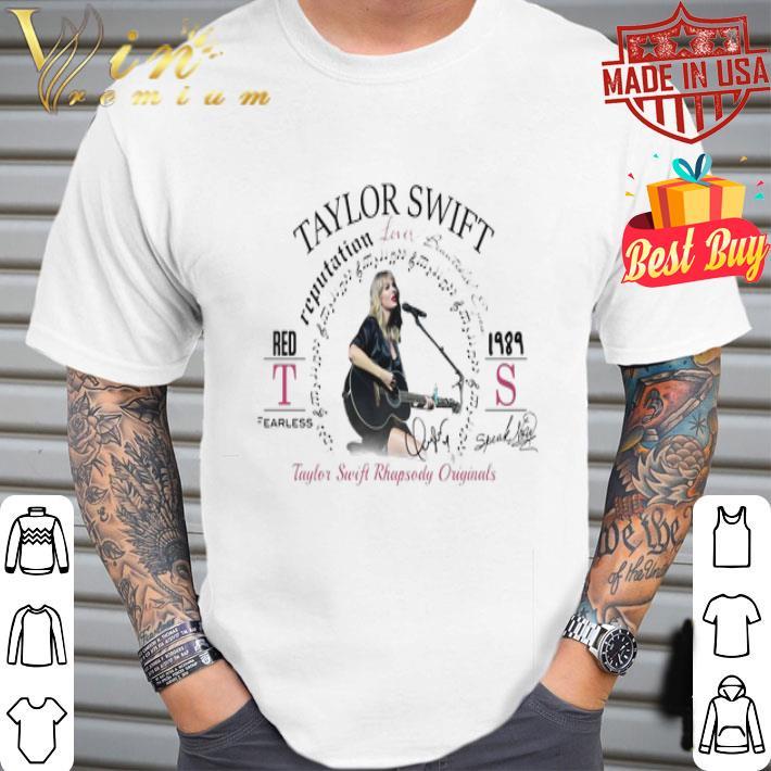 Reputation lover beautiful eye Taylor Swift Rhapsody originals shirt