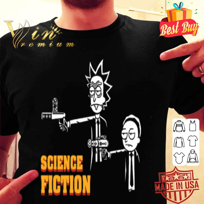 Rick and Morty Science Fiction shirt