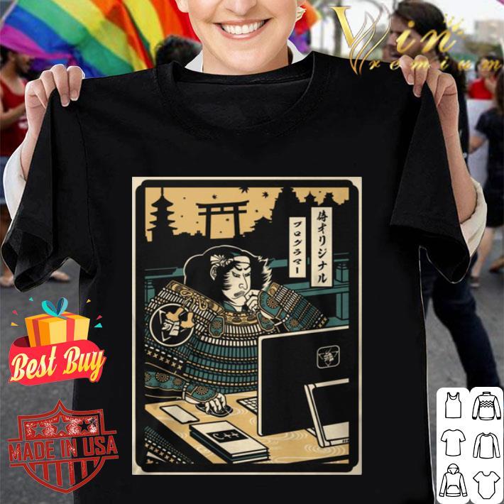Samurai Programmer shirt