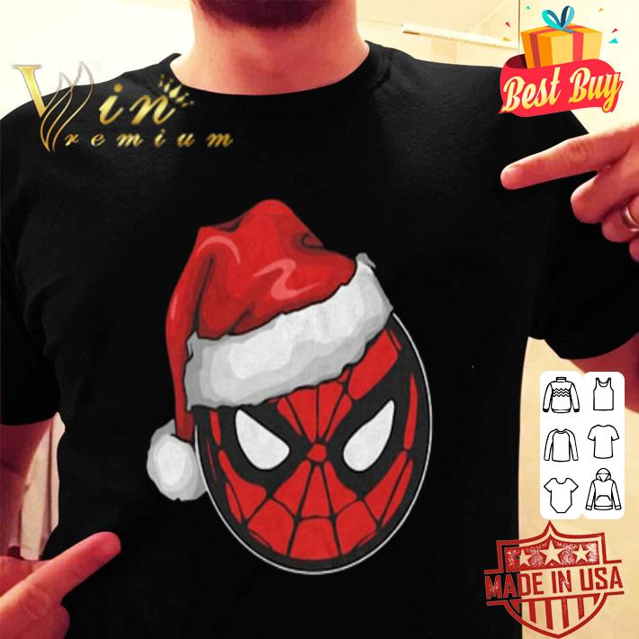 Santa Spider Man Christmas shirt