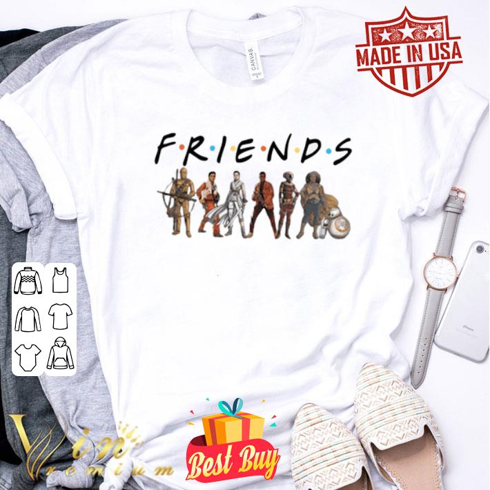 Star Wars Friends characters shirt