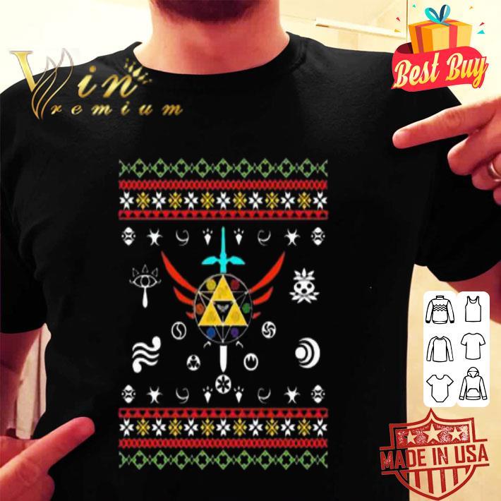 The Legend of Zelda ugly Christmas sweater