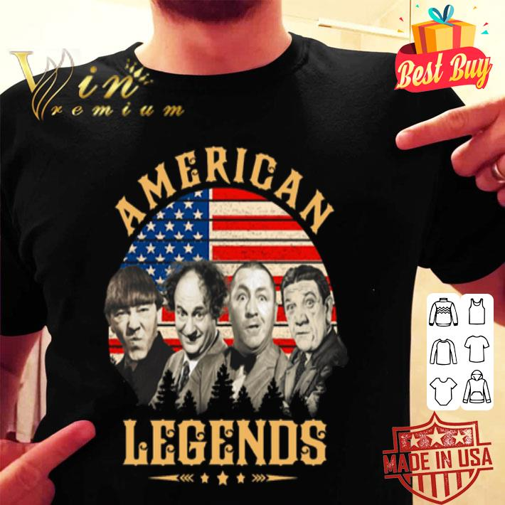 The Three Stooges American Legends shirt