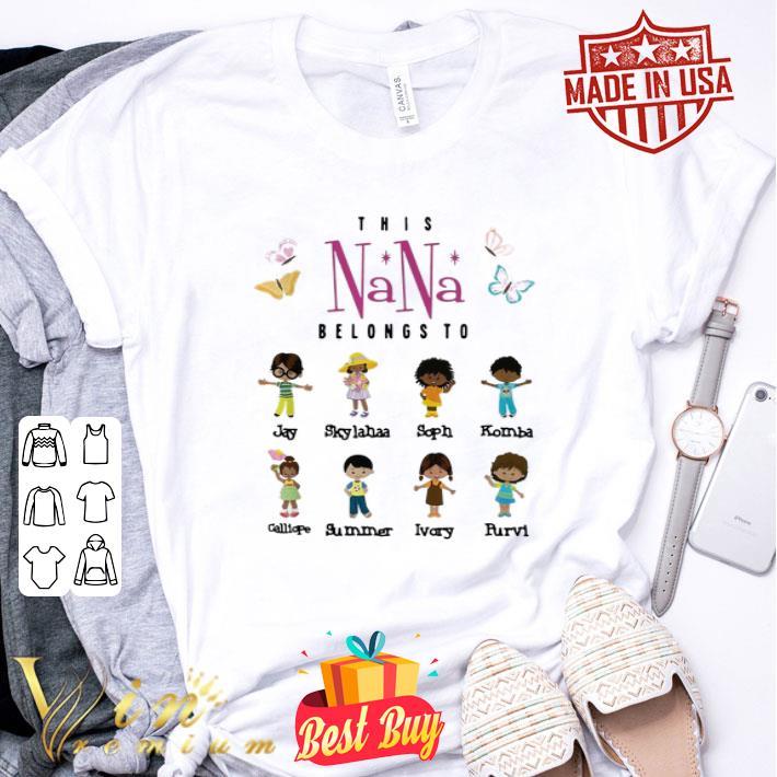 This nana belongs to Jay Skylahaa Soph Komba Calliope Summer shirt