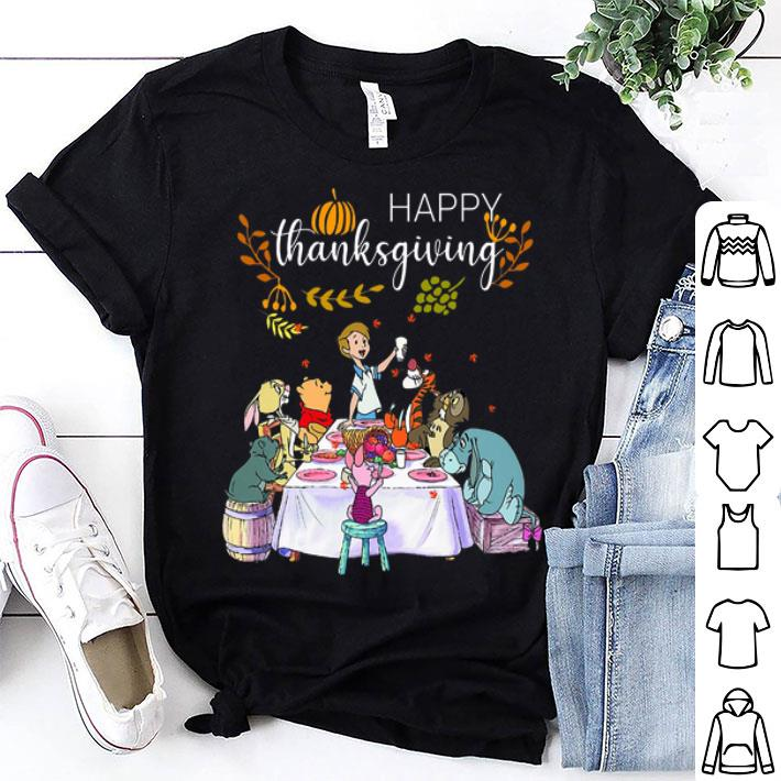 Win the Pooh Happy thanksgiving shirt