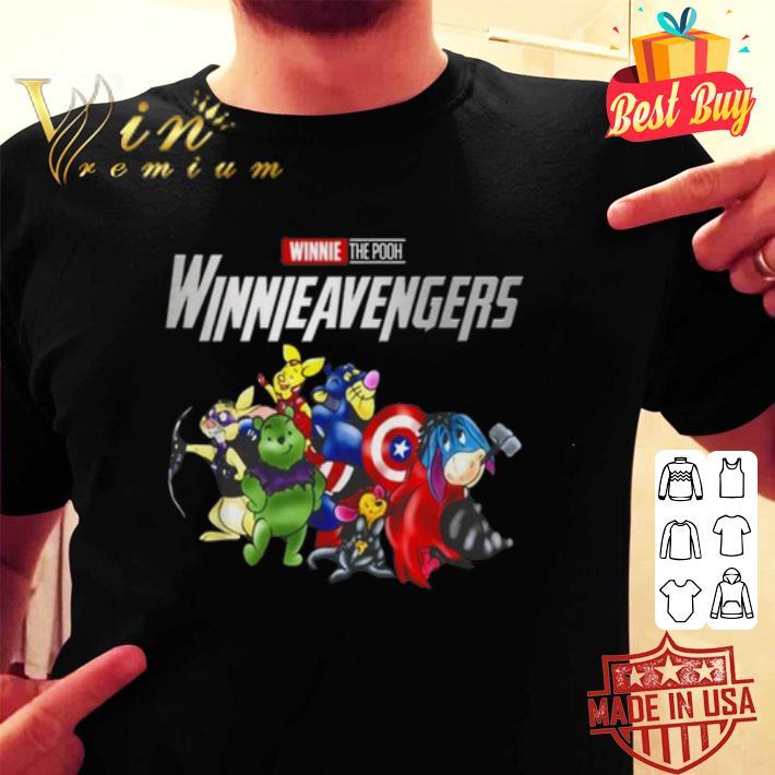 Winnie The Pooh Winnievengers Avengers Endgame shirt