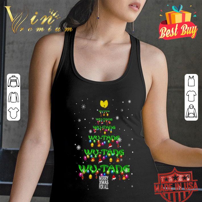 Wu-Tang Clan Merry Xmax For All Chirstmas tree shirt