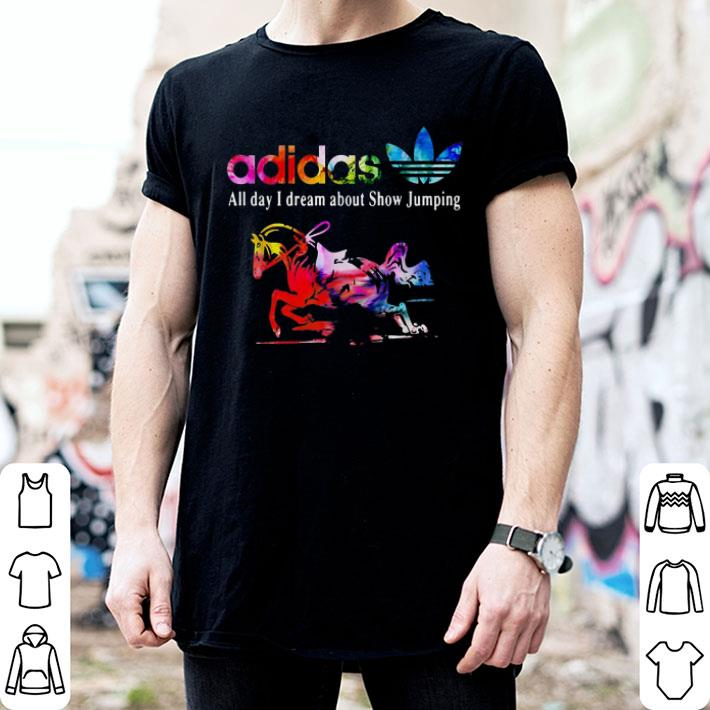 adidas all day i dream about Show Jumping shirt