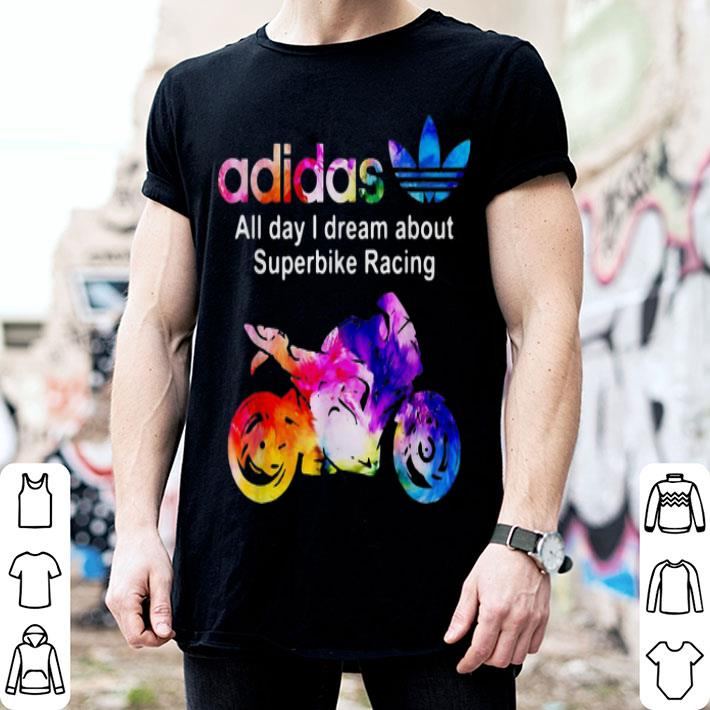 adidas all day i dream about Superbike Racing shirt