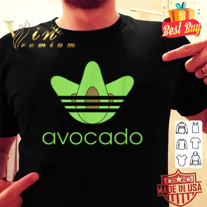 adidas avocado shirt, hoodie, sweater, longsleeve t shirt