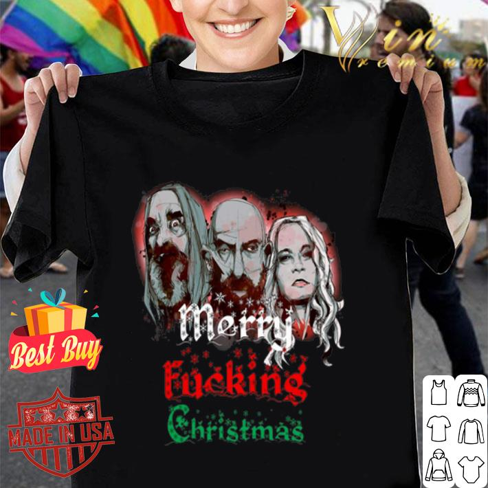 3 From Hell Merry fucking Christmas Rob Zombie shirt