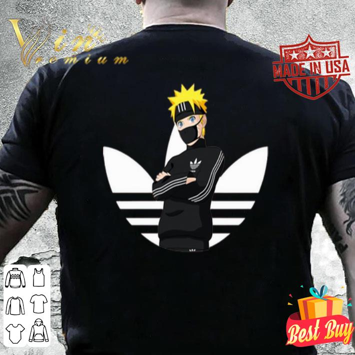 Adidas Naruto Face Mask shirt
