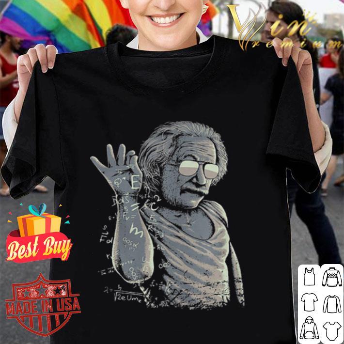 Albert Einstein Mashup Salt Bae shirt