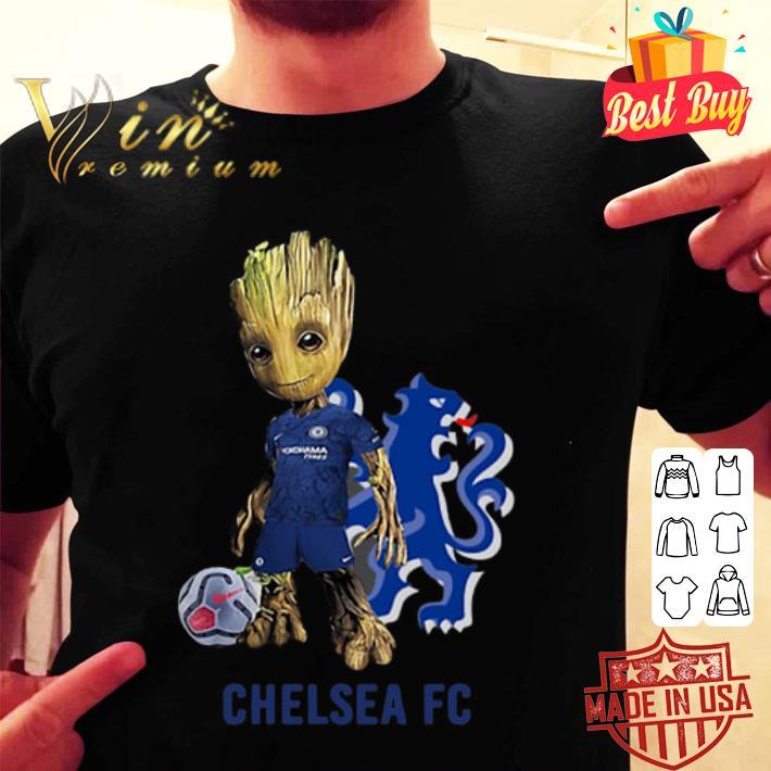 Baby Groot Chelsea FC shirt