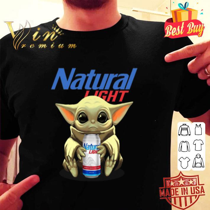 Baby Groot hug Natural Light shirt