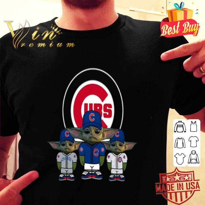 Baby Yoda Chicago Cubs shirt