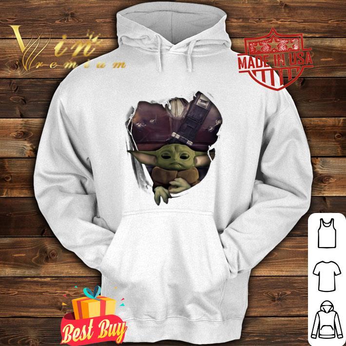 Baby Yoda The Mandalorian Torn Paper Star Wars shirt