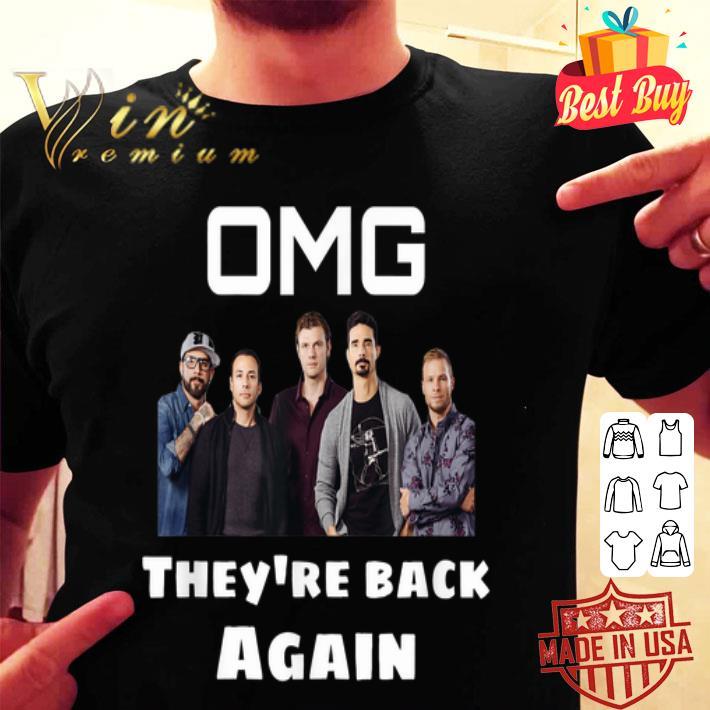 Backstreet Boy OMG They're Back Again shirt