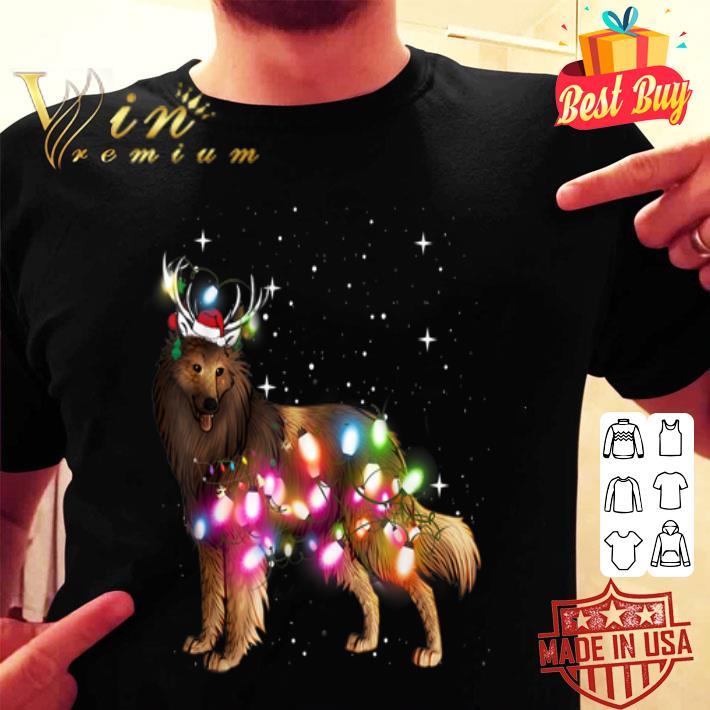 Belgian Tervuren Christmas Lights shirt