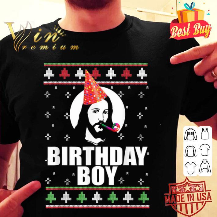 Birthday Boy Jesus Ugly Christmas Xmas sweater
